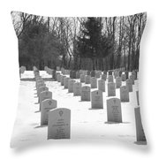 National Cemetery   # Throw Pillow