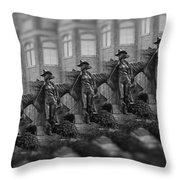 National Cowgirl Museum Throw Pillow