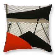 National Gallery Of Art Abstract Throw Pillow