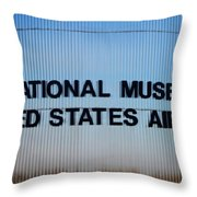 National Museum United States Air Force Throw Pillow