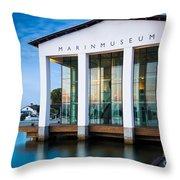 National Naval Museum Throw Pillow