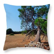 National Park Islands Of Brijuni Throw Pillow