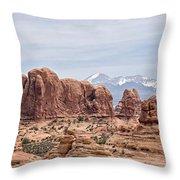 National Park Treasure Throw Pillow