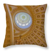 National Statuary Rotunda Throw Pillow