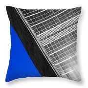 Nations Collapsing Throw Pillow
