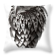 Native American Shaman Eagle Throw Pillow