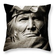 Native American Zuni -  Si Wa Wata Wa  Throw Pillow by Jennifer Rondinelli Reilly - Fine Art Photography