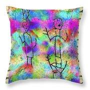 Native Legends II Throw Pillow