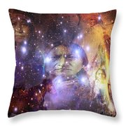 Native One Throw Pillow