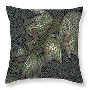 Native Plant 1 Throw Pillow