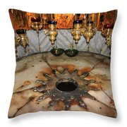 Nativity Star Throw Pillow