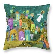 Nativity Three Throw Pillow