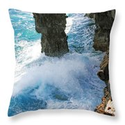 Natural Arch II Throw Pillow