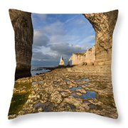 Natural Arches  Throw Pillow