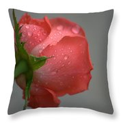 Natural Beauty From Behind Throw Pillow