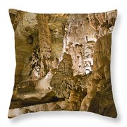 Natural Bridge Cavern - 1 Throw Pillow