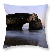 Natural Bridges State Park California Throw Pillow