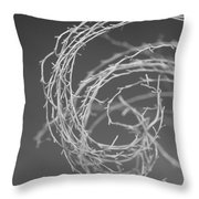 Natural Curl Throw Pillow