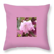 Natural Floral Beauty Throw Pillow