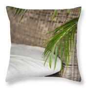 Natural Materials Furniture Detail Throw Pillow