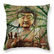 Natural Nirvana Throw Pillow by Christopher Beikmann