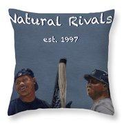 Natural Rivals Throw Pillow