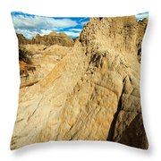 Natural Stone Pillar Throw Pillow
