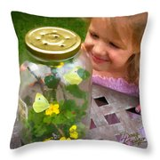 Natural Wonderment Throw Pillow