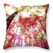 Naturally Pink Throw Pillow
