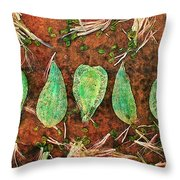 Nature Abstract 16 Throw Pillow