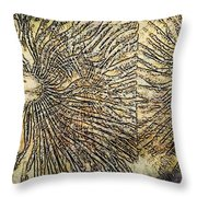 Nature Abstract 2 Throw Pillow