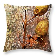 Nature Abstract 21 Throw Pillow
