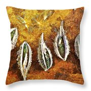 Nature Abstract 74 Throw Pillow