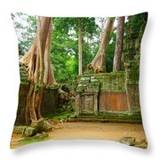 Nature Always Wins Throw Pillow
