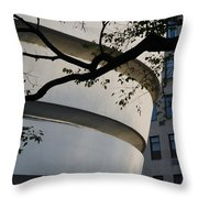 Nature And Architecture Throw Pillow