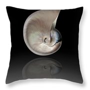 Nature By The Sea  Throw Pillow