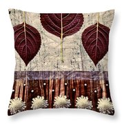 Nature Canvas - 01m4 Throw Pillow