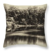 Nature Center Salt Creek In Heirloom Finish Throw Pillow