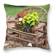 Nature Comes To Life Throw Pillow