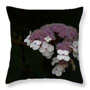 Nature Corsage Throw Pillow by Christine Burdine
