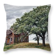 Nature Encroaches - 2 Throw Pillow