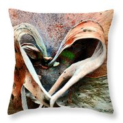 Nature Has A Heart  Throw Pillow