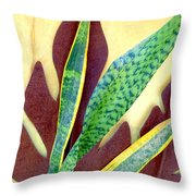 Nature Imitates Art Throw Pillow