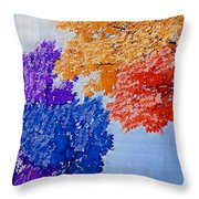Nature In Its New Colors Throw Pillow