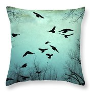 Nature In Motion Throw Pillow