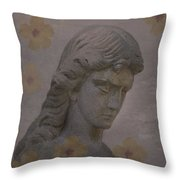Nature Is An Angels Favorite Hiding Place Throw Pillow