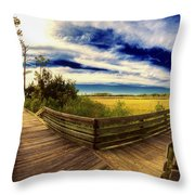 Nature Preserve Throw Pillow