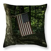 Nature Proud Throw Pillow