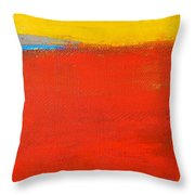 Nature Rouge Throw Pillow