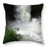 Nature Unleashed Throw Pillow